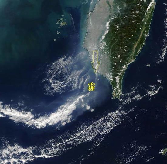 85大樓不見了!一張圖讓你看懂台灣霾害多嚴重