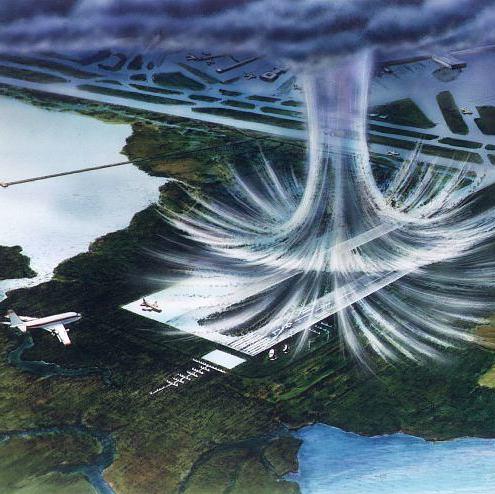 宛如龍捲風!「微下擊暴流」轟炸美國釀2墜機意外