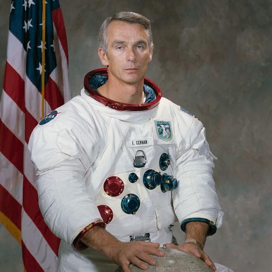 「月球上最後一人」賽爾南辭世, 享壽82歲