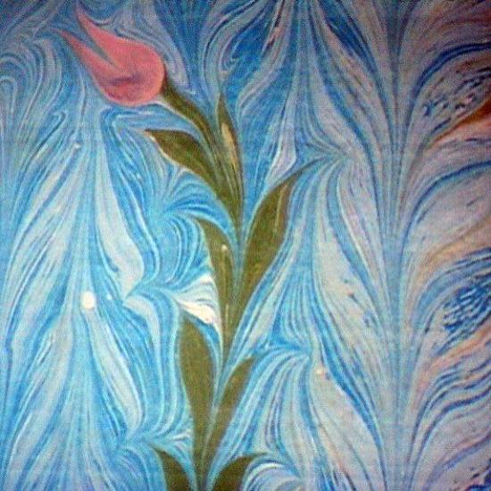 土耳其濕拓畫 在水上作畫的藝術