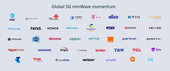 全球行動通訊產業領導者承諾支援5G毫米波