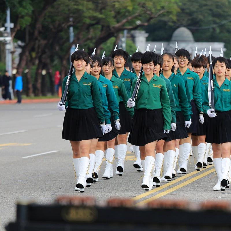 北一女綠色校服像「郵差」!原因竟與「這國家」有關